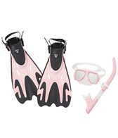 ScubaMax Flex Purge Snorkel, Mask, Fin and Bag Set
