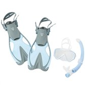 ScubaMax Kid's Snorkel, Mask, Fin and Bag Set