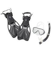ScubaMax Kid's Snorkel, Mask, Fin and Bag Set