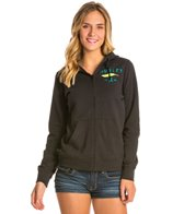 Hurley Feather Heather Zip Up Hoodie