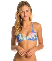 Stone Fox Swim Blue Ginger Indie Braided Halter Bikini Top