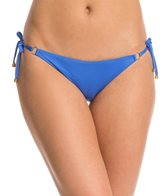 Vitamin A Vista EcoLux Solid String Tie Side Bikini Bottom