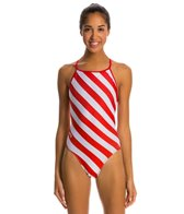 Splish Candy Thin Strap One Piece Swimsuit