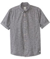 Quiksilver Men's Micro Flowar Short Sleeve Shirt