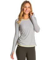 Lucy Women's Dashing Stripes Long Sleeve Workout Shirt