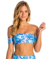 Motel Palm Glitch Alaska Bandeau Bikini Top
