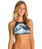 Motel Rae Crop Bikini Top