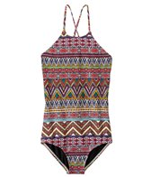 Billabong Girls' Sahara Sunset Halter One Piece Swimsuit (4yrs-14yrs)