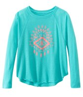 Billabong Girls' Northern Sea L/S Raglan Tee (4yrs-14yrs)