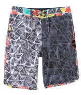 O'Neill Boys' Santa Cruz Scallop Tape Boardshort (8yrs-14yrs)