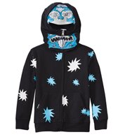 Volcom Boys' Glow in the Dark Full Zip Hoodie Sweater (2T-6yrs)