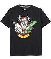 Volcom Boys' Sleigh Stone Santa S/S Tee (2T-7yrs)