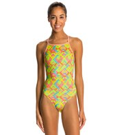 Dolfin Uglies Women's Finley V-2 Back One Piece Swimsuit