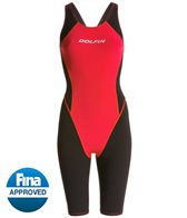 Dolfin Platinum2 Pro Color Block Kneeskin Tech Suit Swimsuit