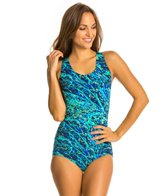 Dolfin Maribell Conservative Lapsuit One Piece Swimsuit