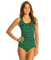 Dolfin Solstice Conservative Lapsuit One Piece Swimsuit