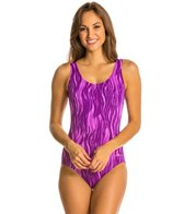 Dolfin Vader Moderate Scoop Back One Piece Swimsuit