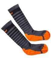 2XU Men's Striped Run Compression Socks