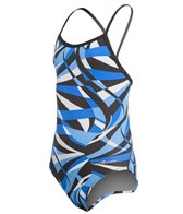 Dolfin Viper Youth V-Back One Piece Swimsuit