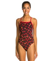 Dolfin Tracer Mesh Triangle One Piece Swimsuit