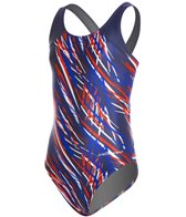 Dolfin Stormy Youth HP Back One Piece Swimsuit