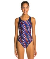 Dolfin Stormy HP Back One Piece Swimsuit