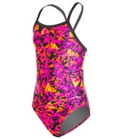 Dolfin Winners Blitz Youth V-2 Back One Piece Swimsuit