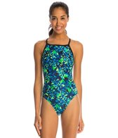 Dolfin Winners Blitz V-2 Back One Piece Swimsuit