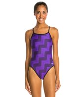 Dolfin Flash Reversible String Back One Piece Swimsuit