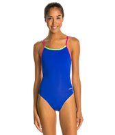 Dolfin Bellas Solids Butterfly Back One Piece Swimsuit