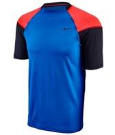 Nike Men's Hydro Stretch UV Color Block S/S Rashguard