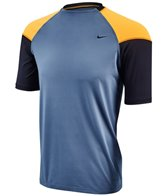 Nike Men's Hydro Stretch UV Color Block S/S Rashguard