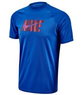 Nike Men's Hydro UV Eclipse Wave S/S Rashguard