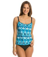Eco Swim Mist Double Strap Camkini Top