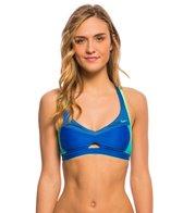 Nike Women's Mesh Color Surge Crossback Sport Bra Bikini Top