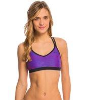 Nike Women's Flow Crossback Sport Bra Bikini Top