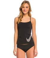 Nike Women's Color Surge Swoosh Tankini Top