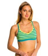 Nike Women's Evenflow Crossback Sport Bra Bikini Top