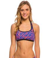 Nike Women's Current Racerback Sport Bra Bikini Top