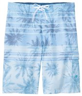 Speedo Men's Palm Stripe E-Board Short