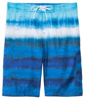 Speedo Men's Tie Dye Stripe E-Board Short
