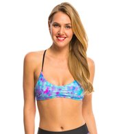 Speedo Women's Print Y Back Bikini Top