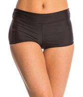 Speedo Women's Solid Boyshort Bikini Bottom