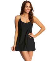 Speedo Women's Solid Swim Dress