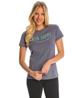 Brooks Women's Run Happy Smile Tee