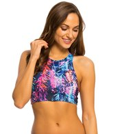 Carve Designs Women's Sanitas Reversible Bikini Top