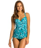 Penbrooke Jungle Jewels Underwire Adjustable Side Tankini Top