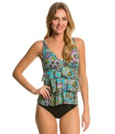 Penbrooke Gypsy Triple Tier Soft Cup Tankini Top