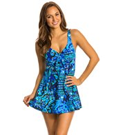 Penbrooke Caribbean Play Bow Front Swimdress