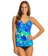 Penbrooke Garden of Oz Surplice Tankini Top